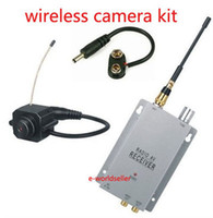 Wholesale New mini Wireless Spy Camera Hidden cam Security kit