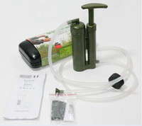 Wholesale New Camping Hiking Portable Water Filter Cleaning Purifier