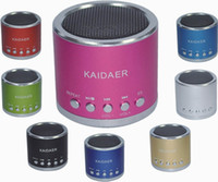 Wholesale Mini USB Speaker Kaidaer KD MN01 Music player mp3 loudspeaker for Ainol Tablet PC Micro SD TF card