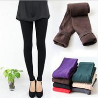 al por mayor las medias de las mujeres-¡¡Envío gratis!! Pantalones gruesos skinless de las mujeres legging / pantalones apretados fashional de las mujeres / venta caliente