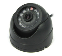 Wholesale Mini Conch Shape Dome TVL CCD IR Surveillance Video Camera Sol