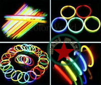 Wholesale maxi Fluorescent bracelets glow sticks light sticks LED toys Party Supplies Christmas