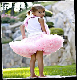 Wholesale New baby girl tutu Pettiskirt Petti Skirts Party skirt summer outfit holiday dress pink colors