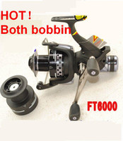 Wholesale New Both Bobbin Superior Baitrunner Carp Fishing Reel BB FT4000 FT6000