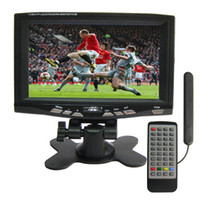 Wholesale 7 inch Portable DVB T LCD TV Digital TV with DVB T Support USB flash disk for Car