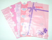 Wholesale Mix Plastic Shopping Gift Bags Fit Gift Shopping Jewelry WB26