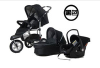 Wholesale Infant the trolley kid s car is three types with luxurious set hand basket car child safety seat