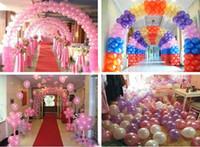 balloon arch - 2012 Birthday Wedding Party Balloons Bubble air Balloon arch decoration Christmas ornament