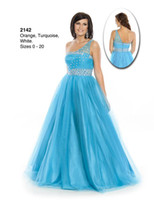 Real Photos One-Shoulder Satin A shoulder straps, strings of beads, like a princess in 13 wow! A ball gown PROM dress