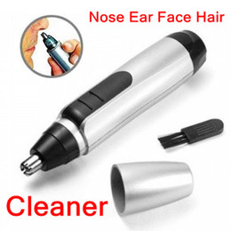 Wholesale Electric Nose Ear Face Hair Facial Trimmer D arched blades Shaver Clipper Cleaner for Men and Women