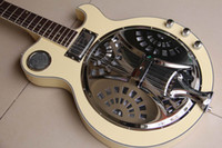 acoustic electric resonator - New strings resonator Acoustic electric Guitar cream top quality