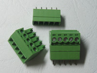 Wholesale 120 Green pin mm Screw Terminal Block Connector Plable Type High Quality HOT Sale