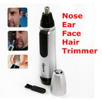 Wholesale Stainless Steel Circular Blade Cordless Nose Ear Face Hair Facial Trimmer Clipper Shaver Cleaner