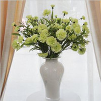 Wholesale The simulation and pure and fresh carnation flowers home decorations adornment