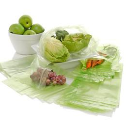 Дебби Мейер Greenbags Все фрукты овощи свежими дольше Пребывание 20 Сумки обновления Многоразовые Зеленый 200pack / много бесплатная доставка