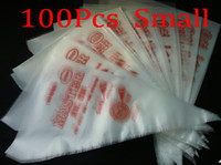 Wholesale 100 Cm S Size Cake extrusion platic bags decorating supplies bag icing pin kitchen new