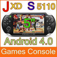 Wholesale DHL quot JXD S5110 Android OTG WIFI Ice Cream Screen Games Console Tablet PC MID JX