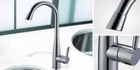 Performance Brass Kitchen Faucet with Chromium Finish and Ce...