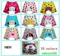 Wholesale New Baby cartoon cotton pants pp pants summer paragraph short pants children kid trousers britches
