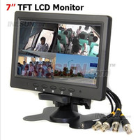 Wholesale New inch TFT LCD Color CH Video input Camera Quad view Monitor wide screen