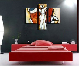 Nude oil painting Couple Lover Love Portrait abstract decoration hand painted home wall art decor