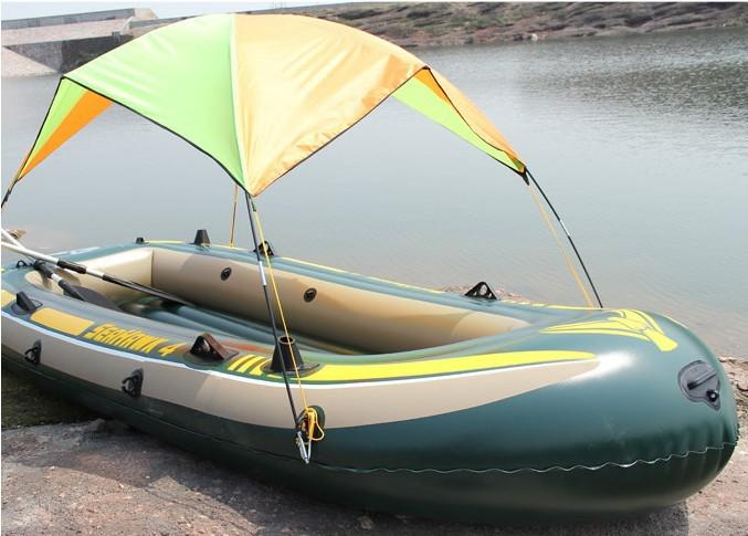 Boat Shelter Canopy : Inflatable boat sun shade canopy