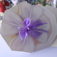 Wholesale perfect party cards invitation card flower style invitation card