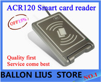 Wholesale High Quality ACR120 Contactless USB Smart Card Reader Writer DHL