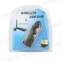 Wholesale 10pcs Wireless USB DVR GHz Channels Record File Format AVI Play with Windows Video Media Player