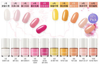 Cheap 100 colors nail varnish polishes art designs paint salons stickers gel nails polish display 6pcs