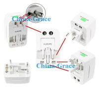 Wholesale International World Universal Travel AC Power Charger Adapter Plug AU UK US EU E116