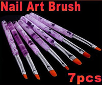 Wholesale Professional UV Gel Brush Nail Art Painting Draw Brush Sizes Set HB4573