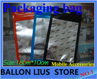 Wholesale Retail Packaging Plastic bag Poly bag PP bag for most cellphone case earphone headphone
