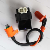 Ignition Switch Ignition Coil GY6 parts Performance Ignition Coil + DC CDI Kymco, SYM, Vento Scooter GY6 engine parts