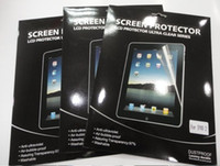 Wholesale Anti Glare PVC Screen Guard Protector for iPad New ipad Gen