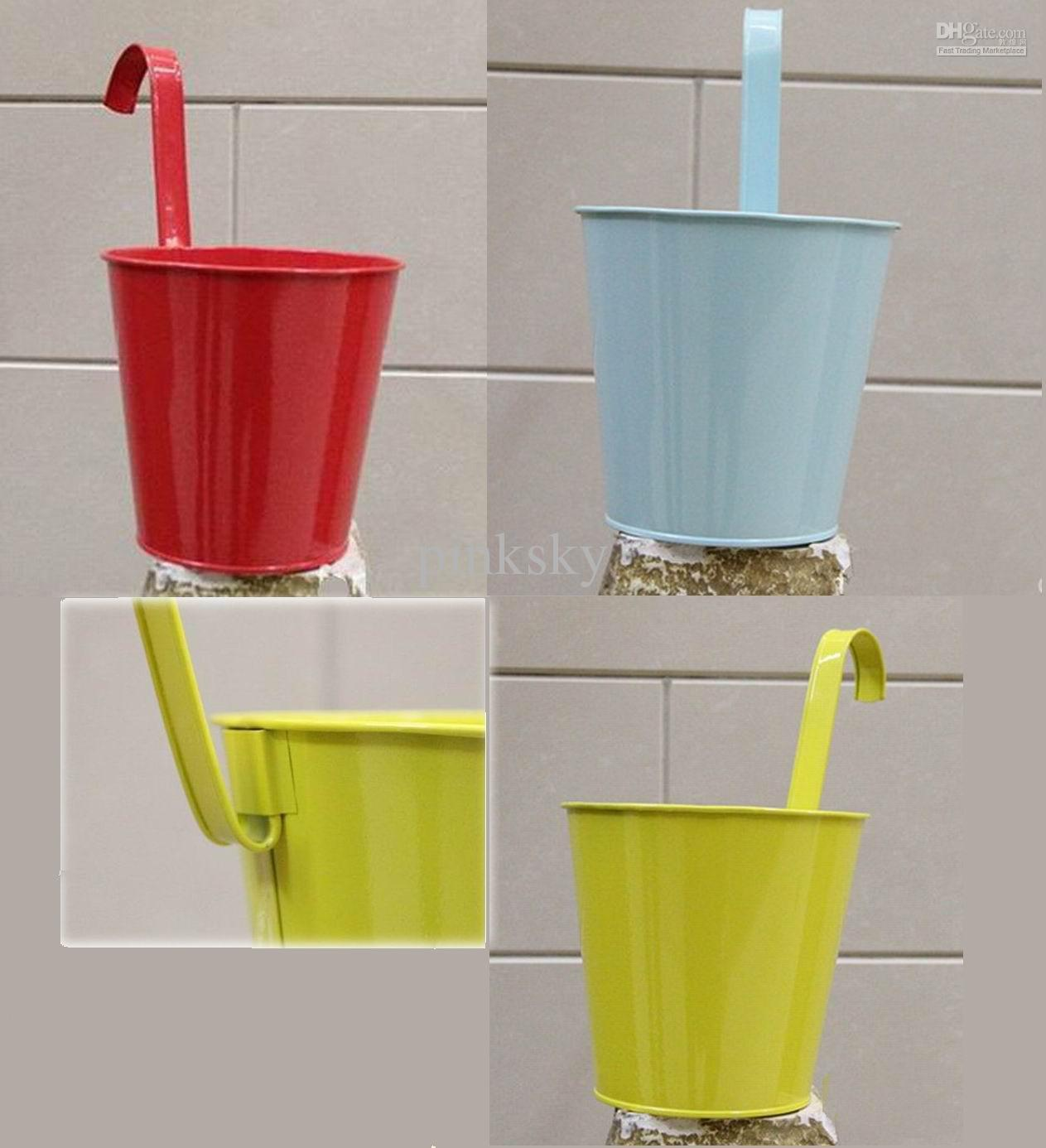 garden decor planter metal pot vase kids home backyard yard lovely