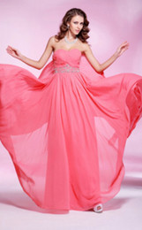 Wholesale 2012 In Stock Cheap Sweetheart Beaded Chiffon Ball Gown Bridesmaid Dresses Evening Prom dresses