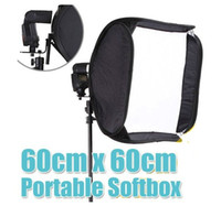 Wholesale Softbox For SpeedLight Flash Light cm quot Flash Softbox for LED video lights