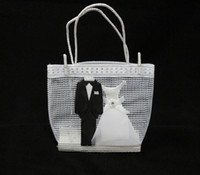 Wholesale Wedding Favor bag Gift bag Packing bag Bride and Groom favor bags set of