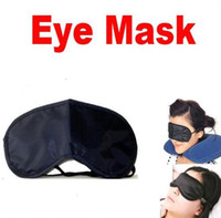 eye mask - 10pcs Sleeping Eye Mask Protective eyewear Eye Mask Cover Shade Blindfold Relax