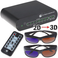2d to 3d - Novel D to D Conversion Signal Video Converter Box Set for TV Movie Blue Ray Xbox DVD PS3