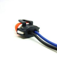 White   Car Bulb Holder Adapter For Car Fog DRL lights DIY 9006 Socket