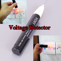 Wholesale Non Contact Voltage Detector V AC Pen Tester Black