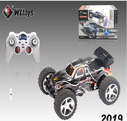 HOT!!! COOL Amazing RC truck WL 2019 High speed 20-30km hour RC Car RED, BLUE & Black 10pcs lot