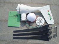 Wholesale Breeze start up W Wind Turbine Generator V V Auto Distinguish Build in MPPT Controller CE
