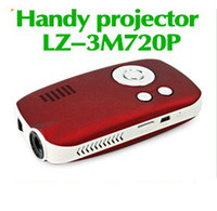 Wholesale Portable LED Projector Handheld Projector LZ M720P Mini Projector GB M Lumens LZ M720P