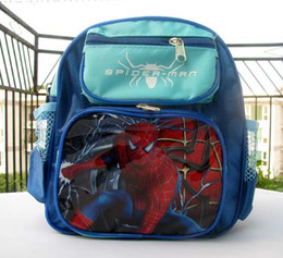 Wholesale - Lot 5 pcs New spider-man kid'sschool bag backpacks lovely cute