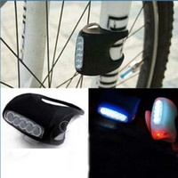 Wholesale Bike Bicycle LED Silicone Super Frog Head Front Lamp Warning Rear Light Black