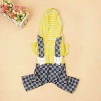 Cool Pet Casual Clothing+ Stripe Jeans Pants from Profession...