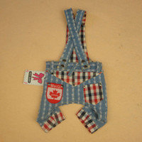 Durable Pet Dog Canada Stripe Suspender Pants from Professio...